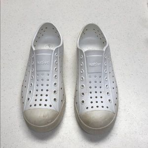 Native White Shoes